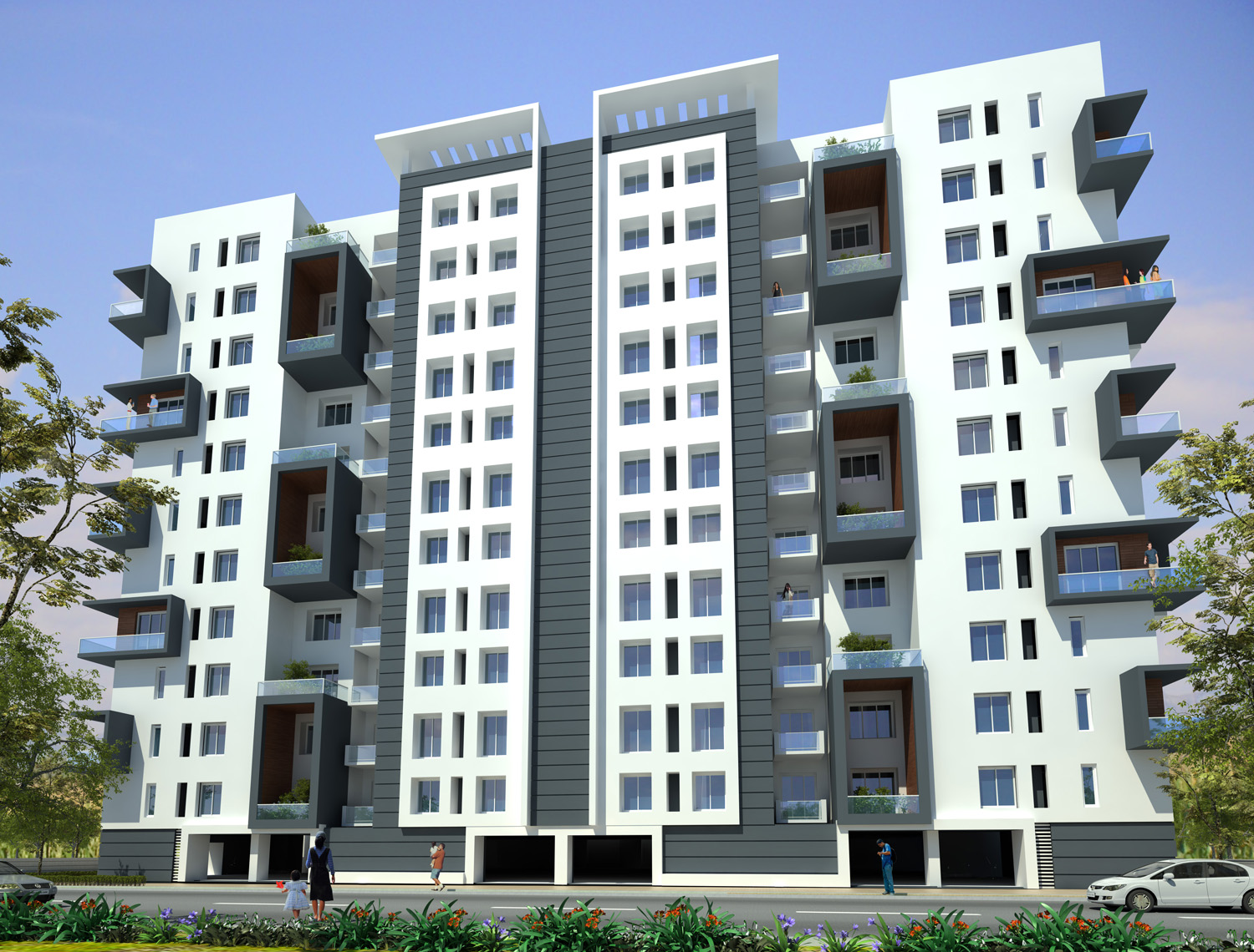 3 Bhk Resale Apartment at Appaswamy Greensville